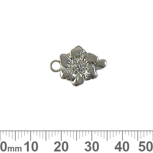 Flower Single Strand Box Clasp