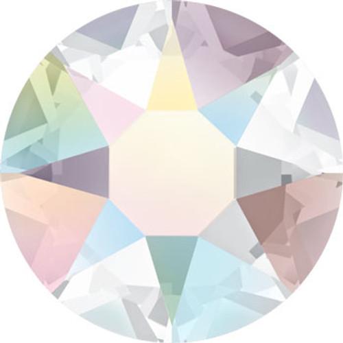 BULK Swarovski® SS12 Hotfix Xilion Rose Flatback Crystal Clear AB