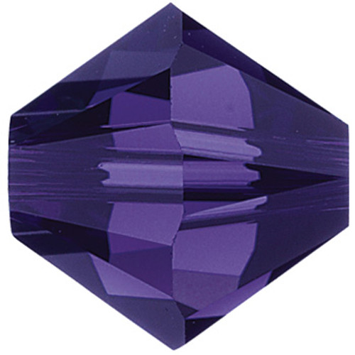 6mm Purple Velvet Swarovski® Bicone
