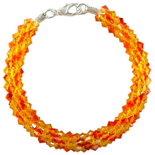 Swarovski Fire Beaded Kumihimo Bracelet Kit