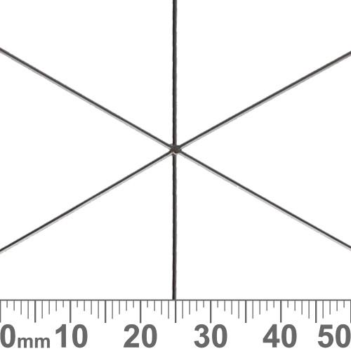 BULK 9.5cm Snowflake Wire Frames