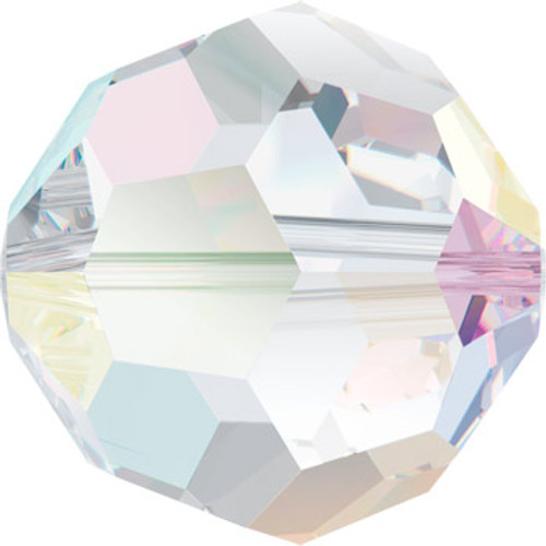 6mm Crystal AB Swarovski® Round Beads