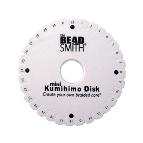 Mini Kumihimo Braiding Disk