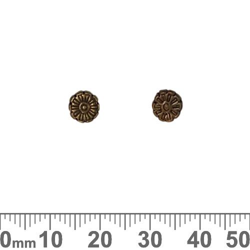 CLEARANCE BULK Daisy Metal Beads