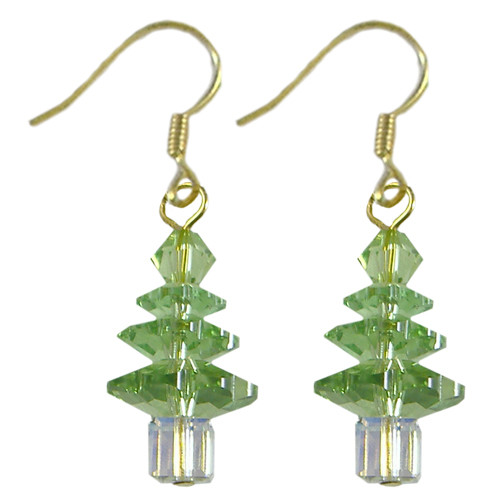 Swarovski Peridot Christmas Tree Crystal Kit