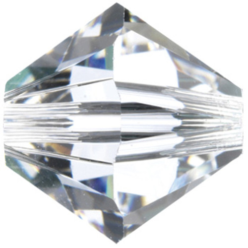 6mm Crystal Swarovski® Bicone