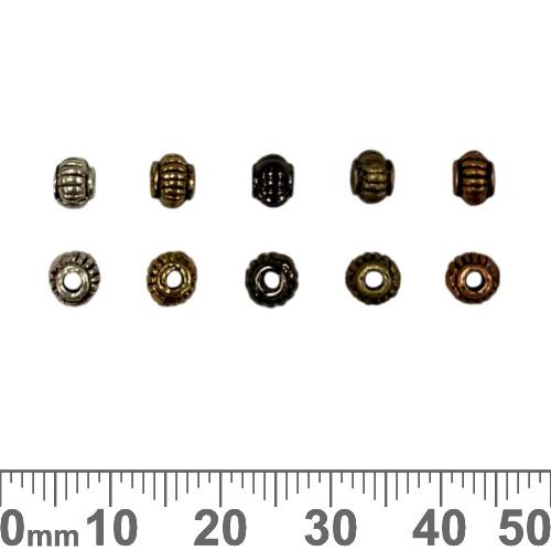 Rope Crown Metal Beads