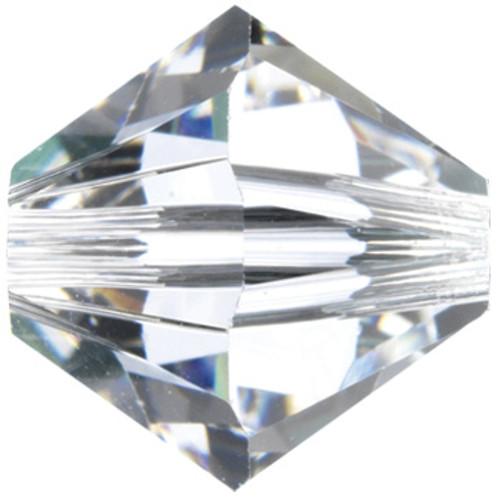 4mm Crystal Swarovski® Bicone