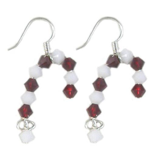 Swarovski Crystal Candy Cane Earrings Kit
