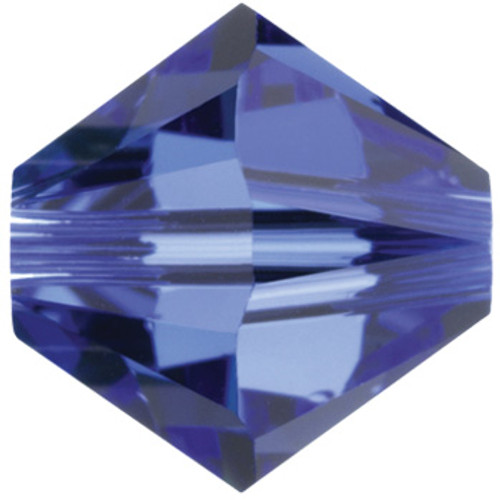 4mm Sapphire Swarovski® Bicone