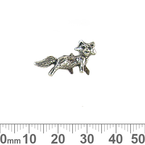 BULK Fox Metal Charms
