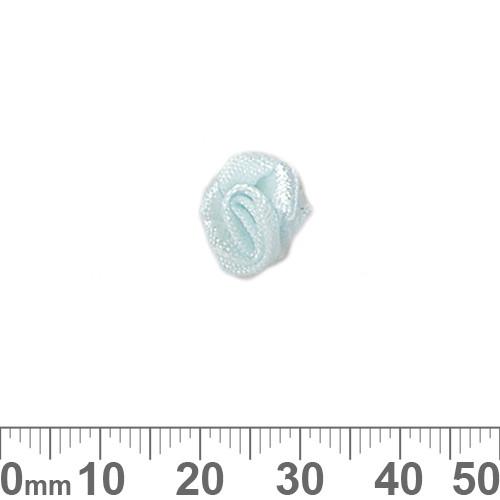 10mm Pale Aqua Ribbon Roses