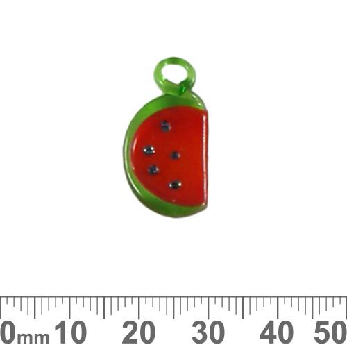 Watermelon Glass Charm