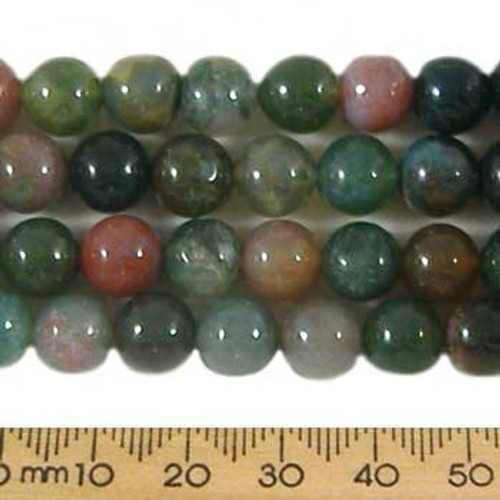 Fancy Jasper 8mm Round Beads