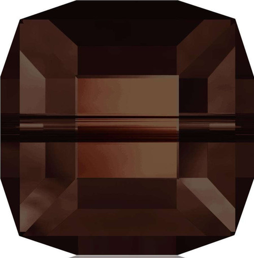 10 x CLEARANCE 4mm Mocca Swarovski® Cube Beads