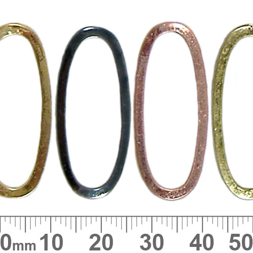 34mm Closed Oval Ring