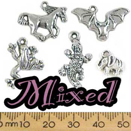 CLEARANCE Metal Charm Mixed Pack - Animals