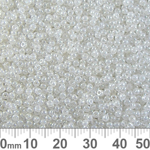 12/0 Opaque Pearl Luster Chinese A-Grade Seed Beads