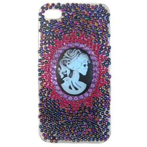 Dark Cameo iPhone 4 Case Kit