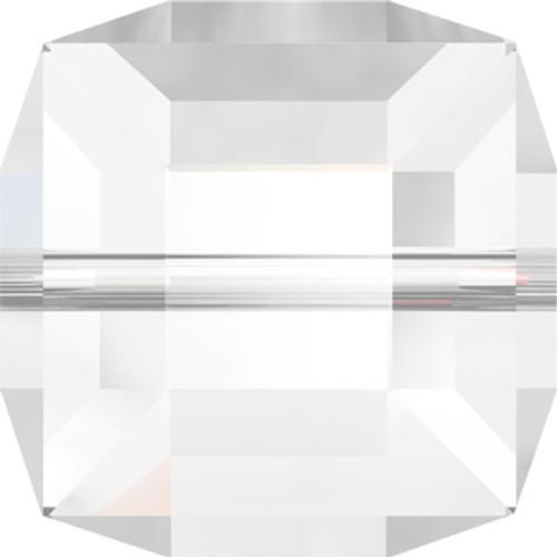 8mm Crystal Swarovski Cube Beads