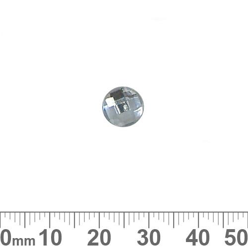 BULK 8mm Round Faceted Plastic Diamantes