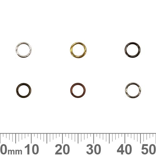 BULK 5mm Double/Split Jump Rings