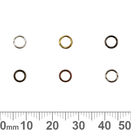 BULK 5mm Double/Split Jump Rings