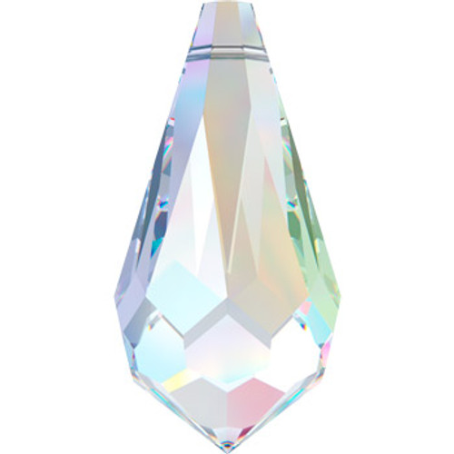 15mm Crystal AB Swarovski® Teardrop Beads