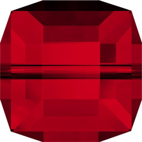 8mm Siam Swarovski® Cube Beads