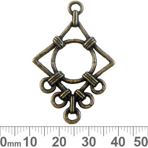 CLEARANCE BULK 5 Strand Rope Diamond Drops