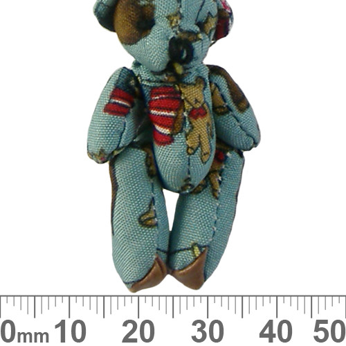 Blue Traveller Fabric Teddy