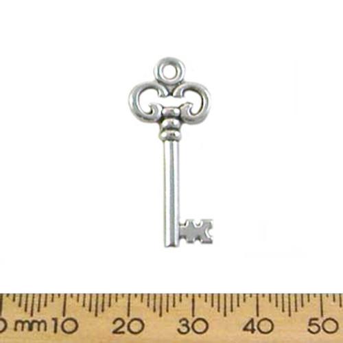 BULK 29mm Ornate Key Metal Charms