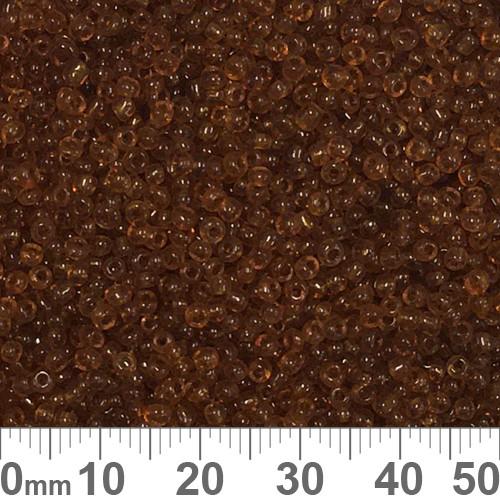 11/0 Dark Amber Seed Beads