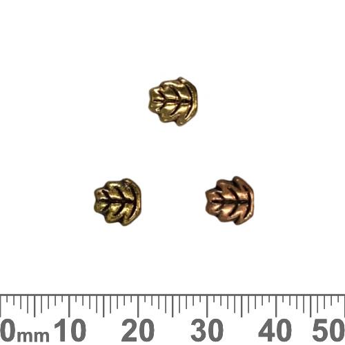 BULK Elm Leaf Metal Beads