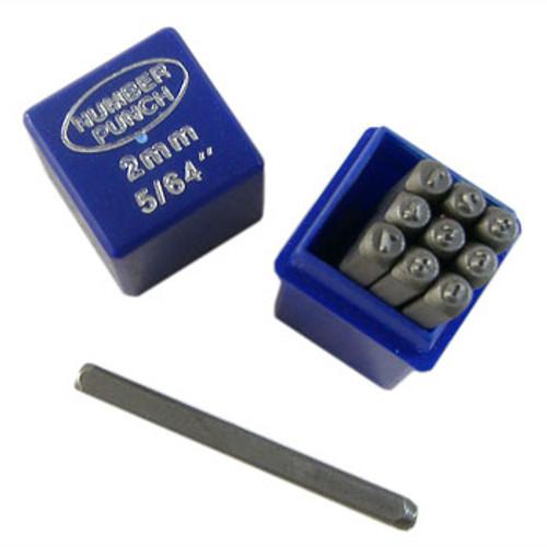 2mm Numbers Metal Punch Set
