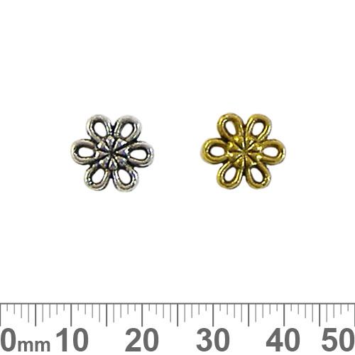Flower 6 Point Pieces