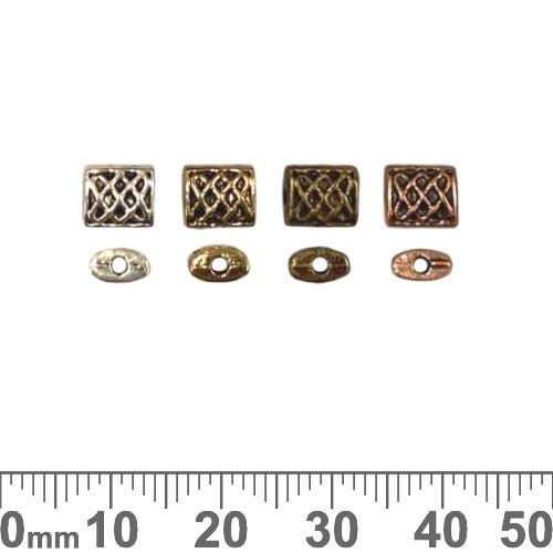 BULK Rectangular Decorative Beads