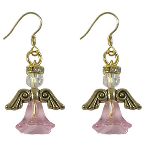 Pink Angel Earrings Kit