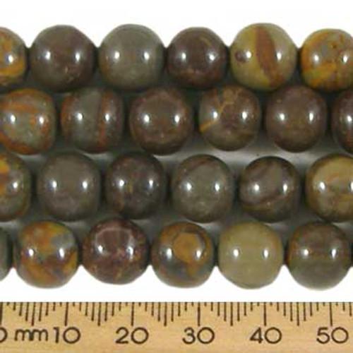 Jasper 10mm Round Beads