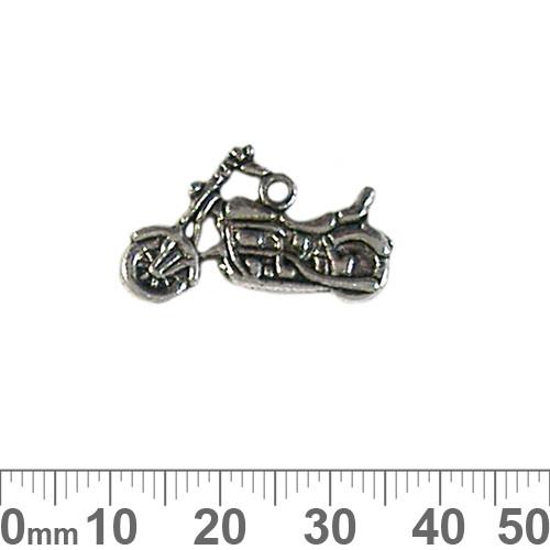 BULK Motorbike Metal Charms