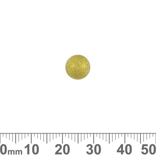 8mm Stardust Metal Beads