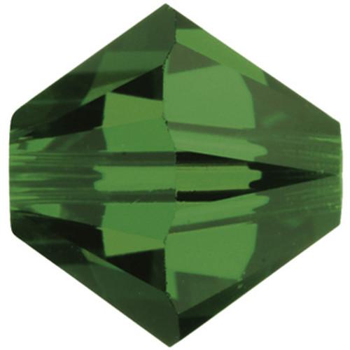 BULK 4mm Fern Green Swarovski® Bicones