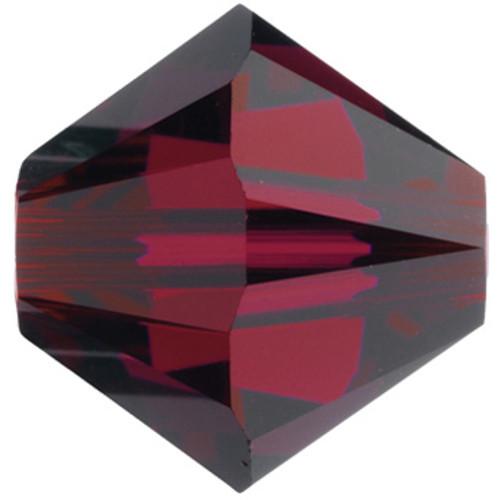 BULK 4mm Ruby Swarovski® Bicones
