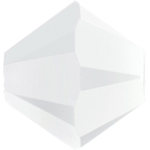 BULK 4mm White Alabaster Swarovski® Bicones