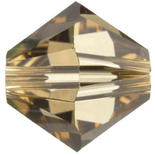 CLEARANCE BULK 6mm Light Colorado Topaz Swarovski® Bicones
