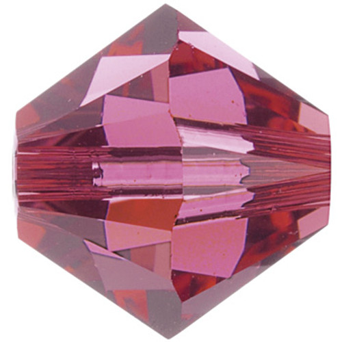 BULK 4mm Indian Pink Swarovski® Bicones
