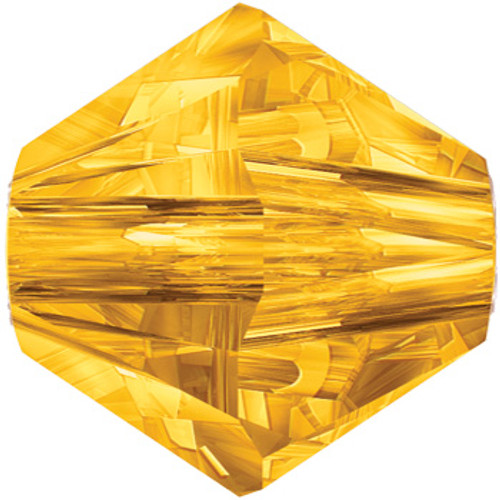 BULK 6mm Sunflower Swarovski® Bicone