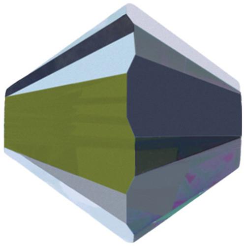 4mm Crystal Vitrail Medium Swarovski® Bicone