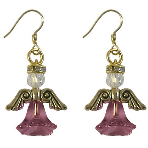 Rose Angel Earrings Kit