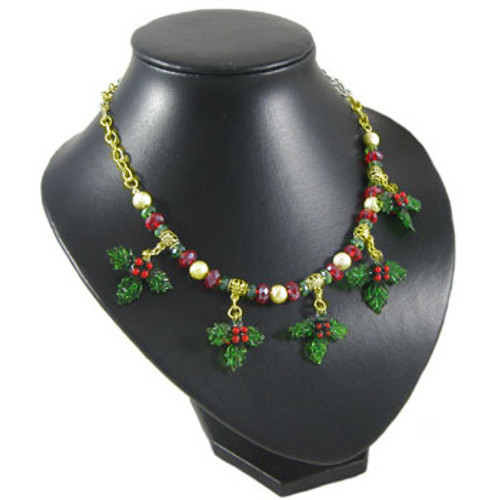Christmas Holly Necklace Kit